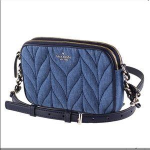 Kate Spade Kendall Briar Lane Quilted Denim Bag